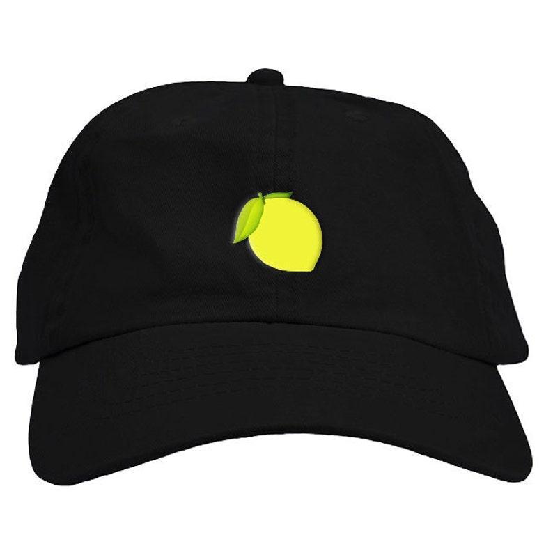 Lemonade Lemon Dad Hat Baseball Cap Low Profile  521a8d430c6