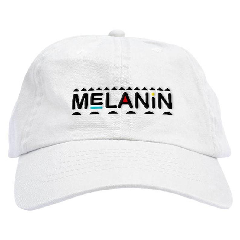72f95959874 Melanin Dad Hat Baseball Cap Low Profile