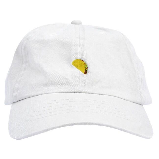 Taco Emoji Dad Hat Baseball Cap Low Profile  200846323c1