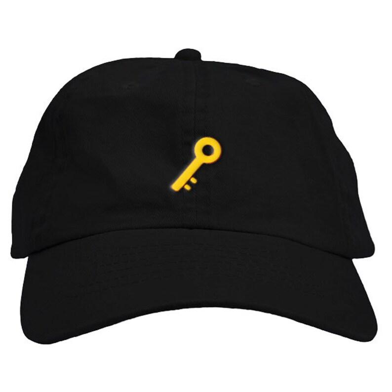 288fb128c18 Key Emoji Dad Hat Baseball Cap Low Profile