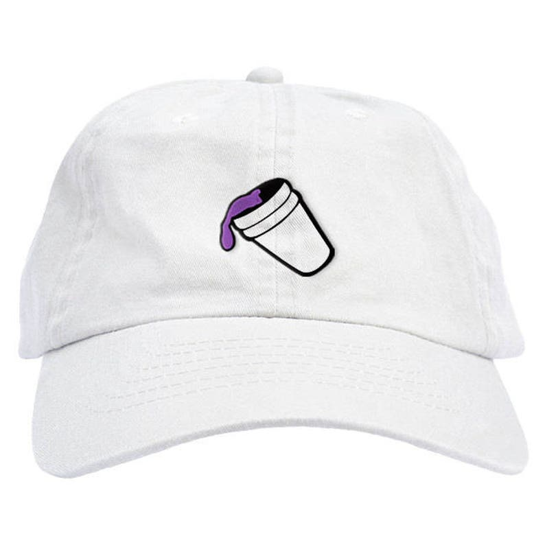 Purple Drank Lean Drink Dad Hat Baseball Cap Low Profile  35590e4de6ec