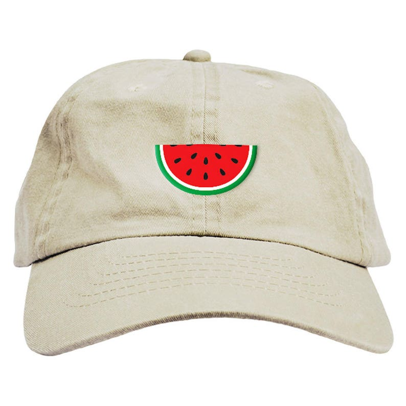 0f90f707676f6 Watermelon Dad Hat Baseball Cap Low Profile