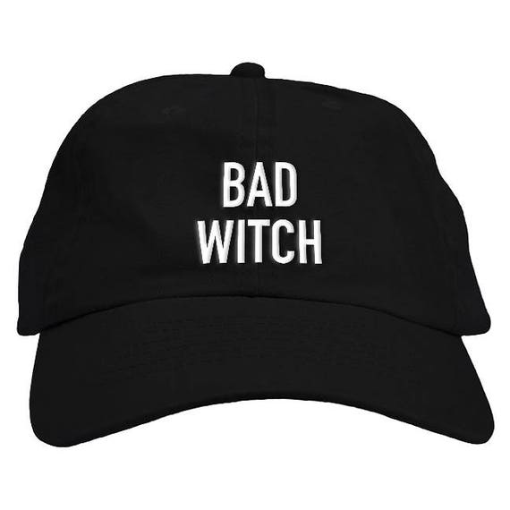 42b634c40d9 Bad Witch Halloween Dad Hat Baseball Cap Low Profile