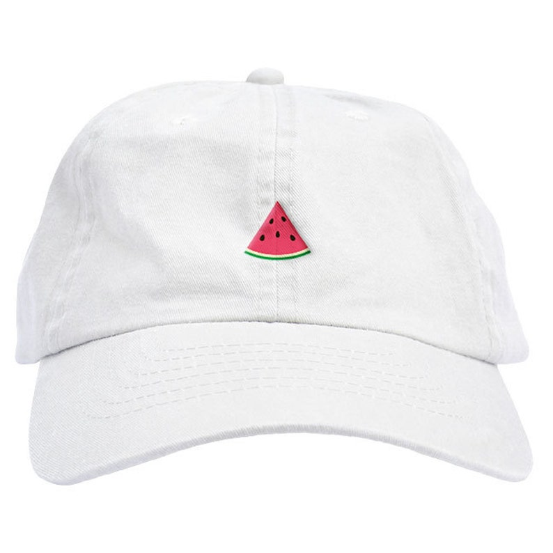 e70730b421354 Watermelon Slice Dad Hat Baseball Cap Low Profile