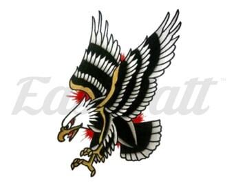 Eagle Tattoo Etsy