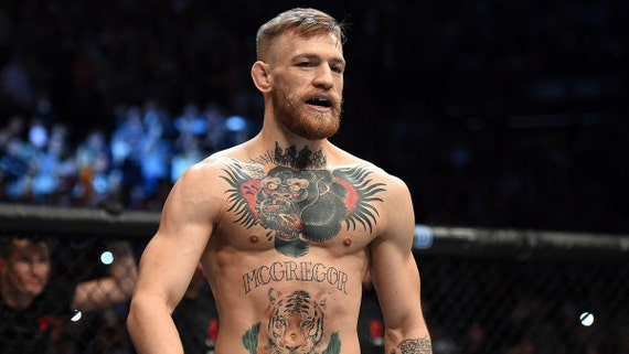 Tattoos Temporary Conor Chest Etsy Mcgregor XngxUZx