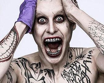 Joker Temporary Tattoos