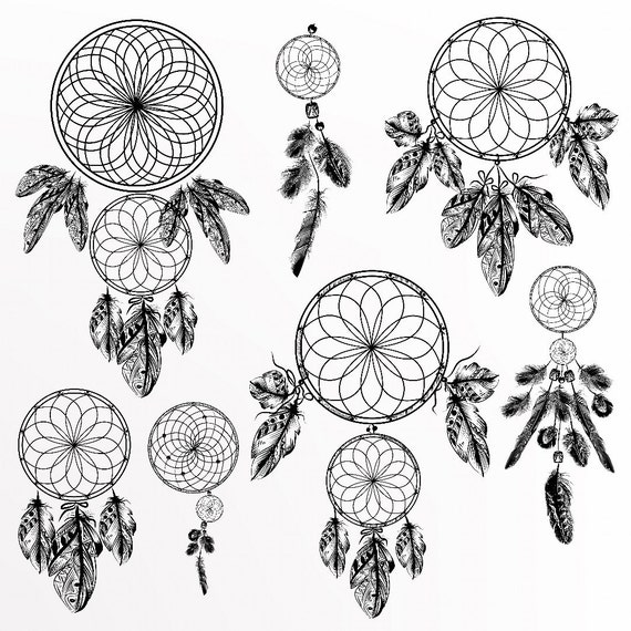 Dreamcatcher temporary tattoos dreamcatcher tattoo etsy image 0 gumiabroncs Image collections