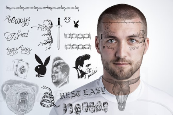 Post Malone Temporary Tattoos Post Malone Face Tattoos Post Malone Neck Tattoos Post Malone Hand Tattoos Post Malone Finger Tattoos 2019