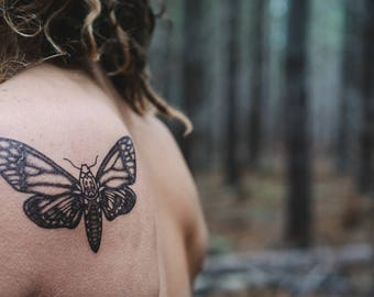Butterfly Temporary Tattoo Insect Temporary Tattoo Beautiful Temporary Tattoo Butterfly Tattoo