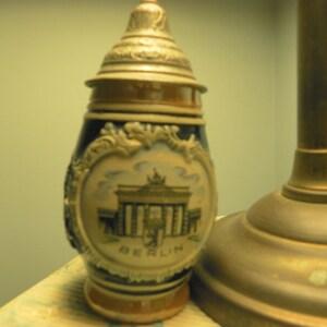 Rangler Ginjal rose wine salt glazed brown stoneware carafe from Portugal A