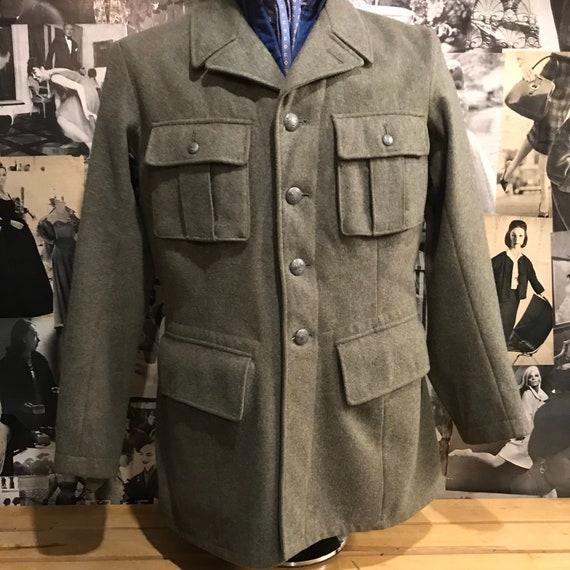 1940s Swedish Army Field Jacket