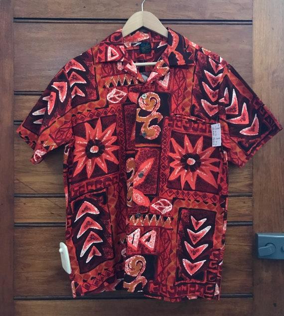 Rare 1960s Cotton Hawaiian Shirt
