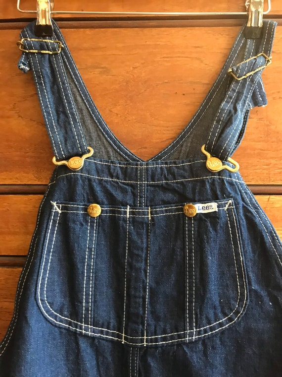 Vintage Lee denim overalls