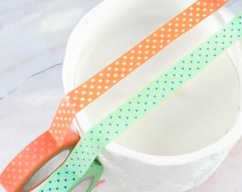 Kawaii Multicolored Washi Tape Tiny Triangles