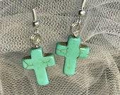 Desert Cross Earrings
