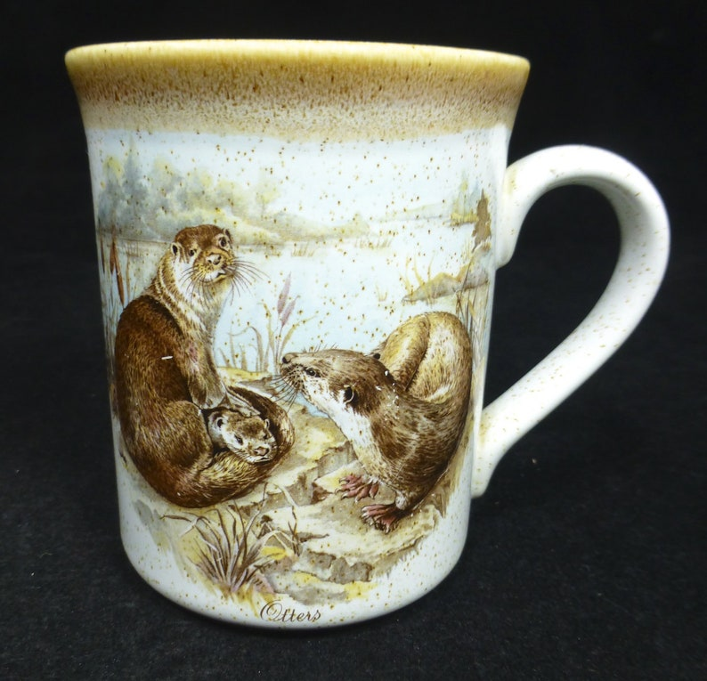Blue and Cream Ceramic Mug Drinking Cup Coffee Tea Best DAD
