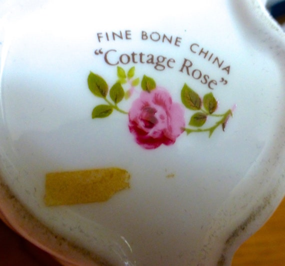 Cottage Rose Fine Bone China Bunny Rabbit Lidded Trinket Box Etsy