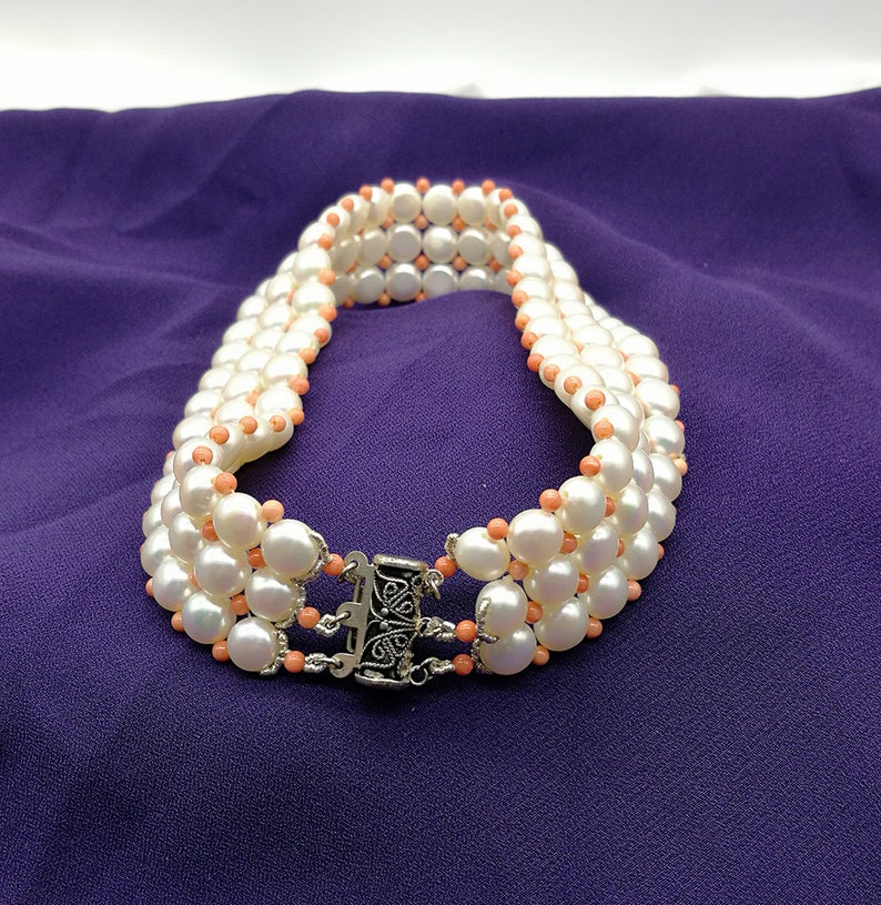 Freshwater Pearl S925 Choker Necklace