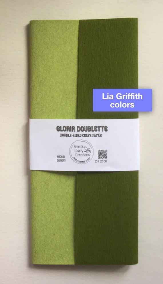 10, Lia Griffith Extra Fein Krepppapier,