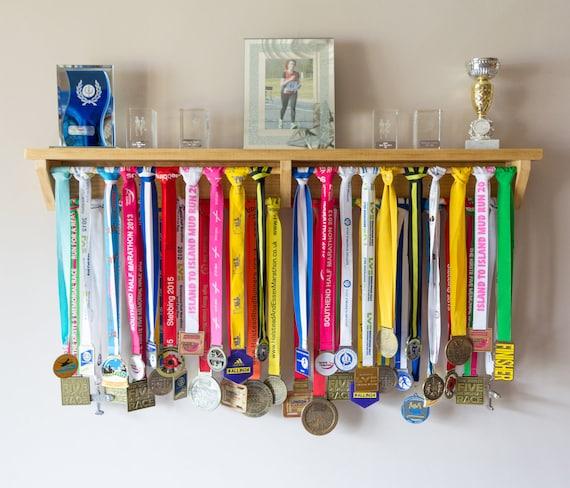 Medal Hanger Medal Holder Shelf For Trophy Display Etsy