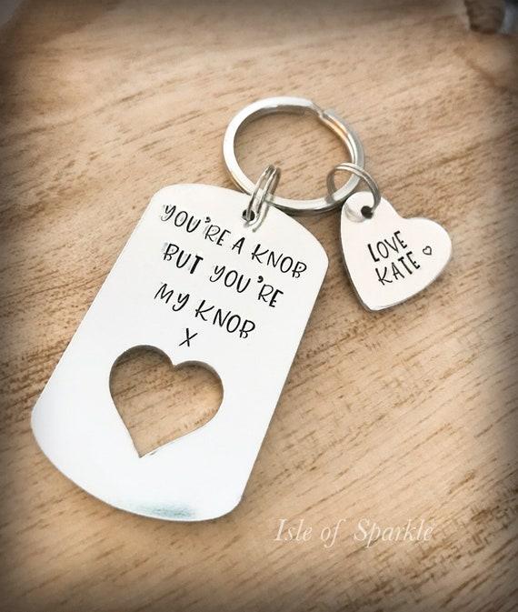 FROM THE DOG I LOVE YOU Keyring Birthday Valentines Christmas Fun Novelty Gift