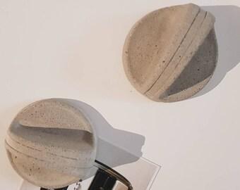Concrete fridge magnet 1 pair