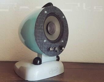 "vintage Active speaker ""sun"" with bluetooth"