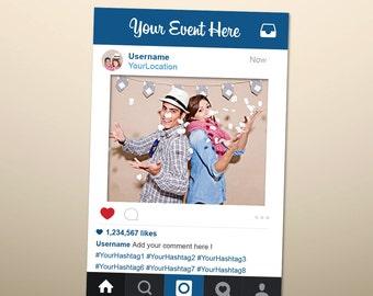 Instagram Photo Booth Prop Diy Ep13 Advancedmassagebysara