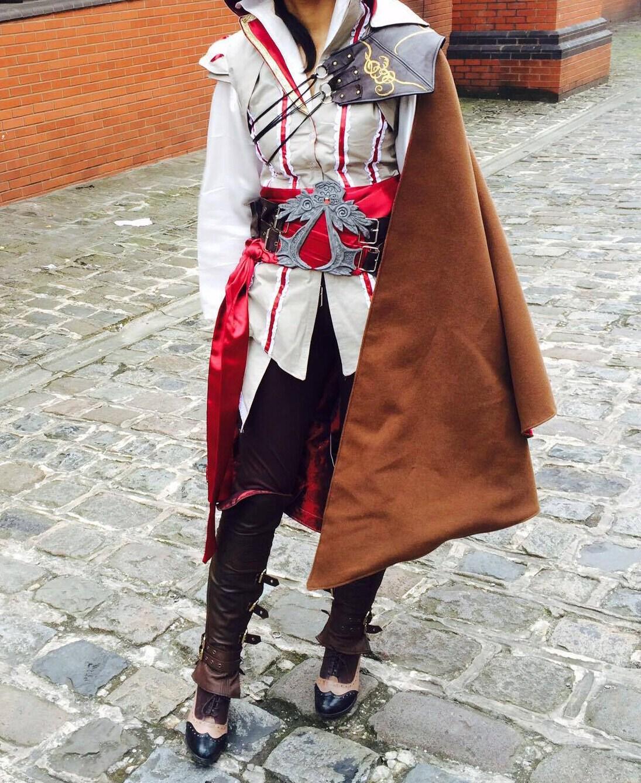 Assassin/'s creed charm leather bracelet fashion costume cosplay bracelet UK sale