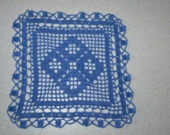 Quadratische Deckchen Häkeln Etsy