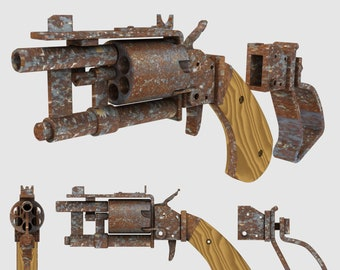 Fallout 4 inspired Gauss rifle made by order | Etsy