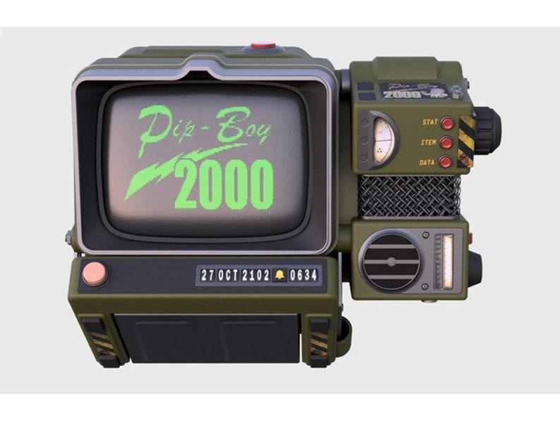 Fallout 76 inspired pre-order Pip-Boy 2000 MK VI raspberry pi 3 B+ based  portable computer