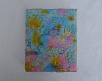 Giverny embroidered journal