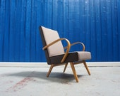 Bentwood Lounge Chair from TON, 1960 39 s