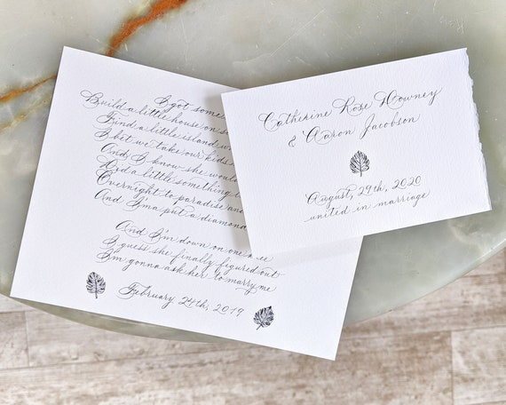 Bridesmaid Groomsman Proposal Wedding Gift Anniversary Gold Ink Custom Calligraphy Message Mini Bottle Wax Seal /& Mini Raw Crystal Gemstone