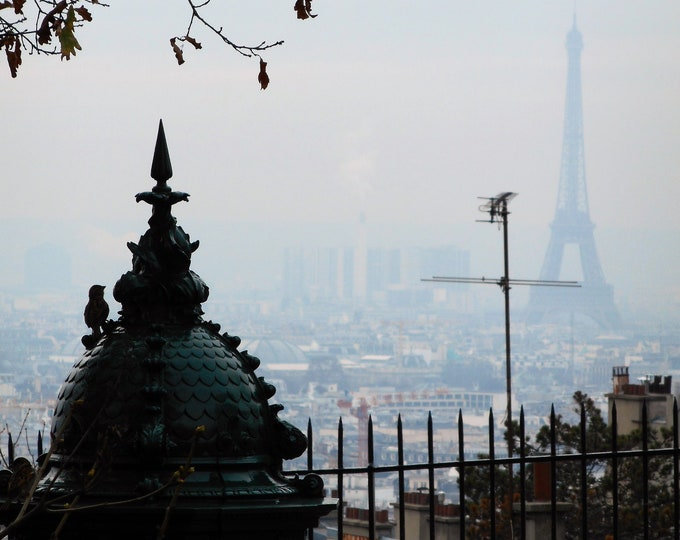Paris mélancolie 11 x 8 inches (about)