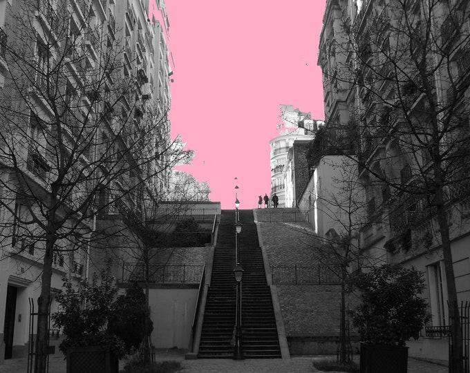 Montmartre Pop rose