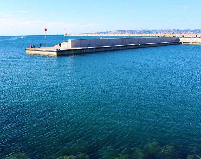 Photography Marseille Ocean pool