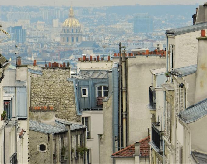 Fenêtre sur Montmartre