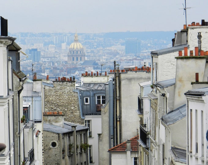 Wallpaper Fenetre sur Montmartre color Paris photography