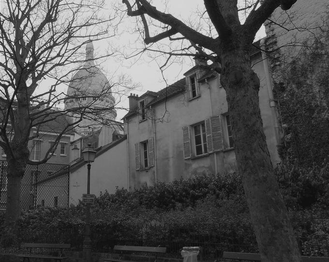 Paris wallpaper Secret Montmartre