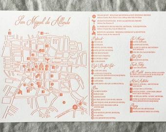 Custom | Wedding Map