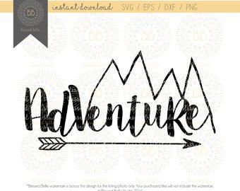 Adventure svg, outdoors svg, woodland svg, boys room svg, eps, dxf, png file, Silhouette, Cricut
