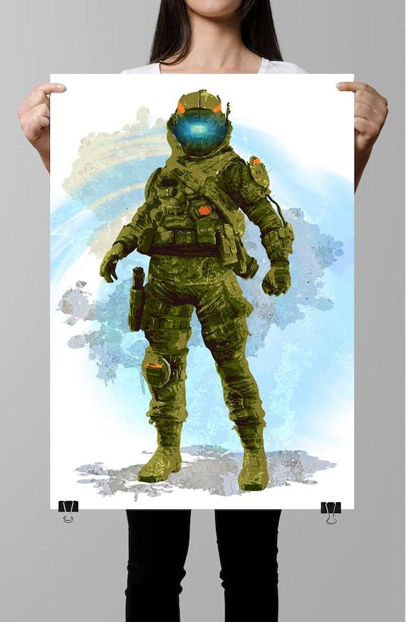 Pilot Titanfall 2 Fan Art