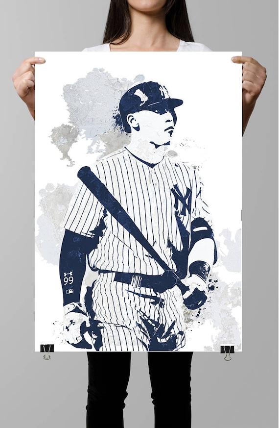Aaron juez Nueva York Yankees deportes cartel Fan art arte | Etsy