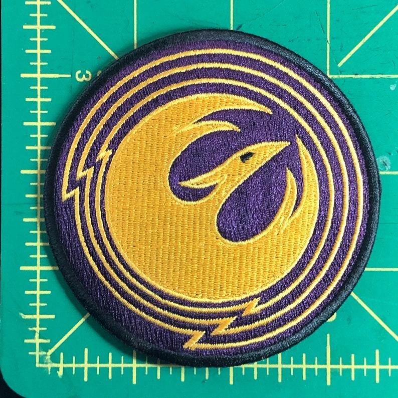 Sabine Wren - Star Wars Rebels Starbird Patch purple