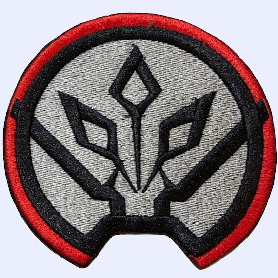 """Star Wars First Order Patch 3/"""" x 2/"""" Iron On Patch Free Shipping by Envelope Mail"""