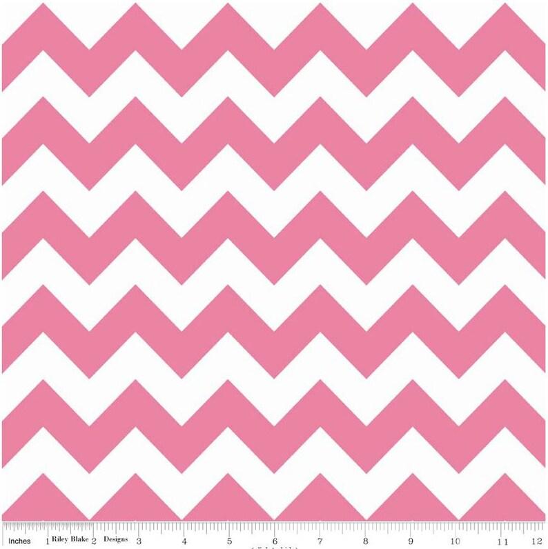 Riley Blake Hollywood Sparkle Chevron-Hot Pink SC 320-70