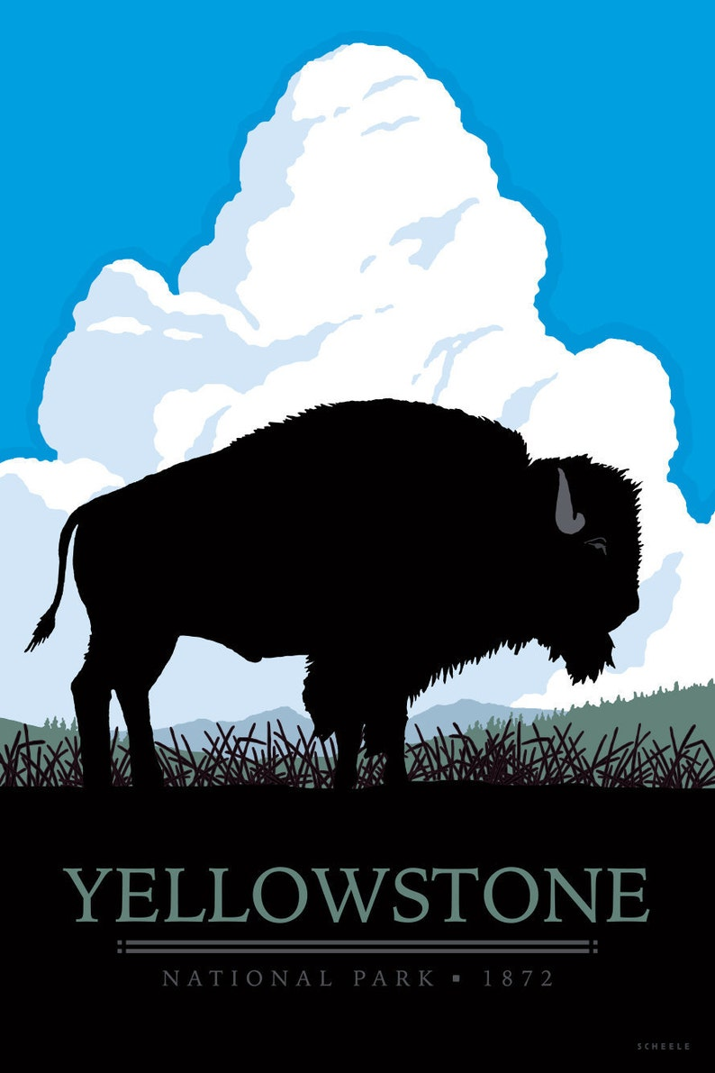 f9f276f6f4c Yellowstone National Park 1872 Vintage Style Travel